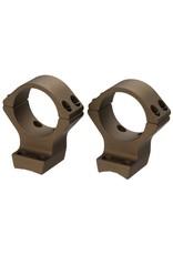 Browning Browning X-Bolt Integrated Scope Mount System – Burnt Bronze Cerakote MED 30 RINGS
