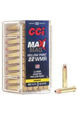 CCI Ammunition CCI Maxi-Mag HP 22 WMR, 50 rds