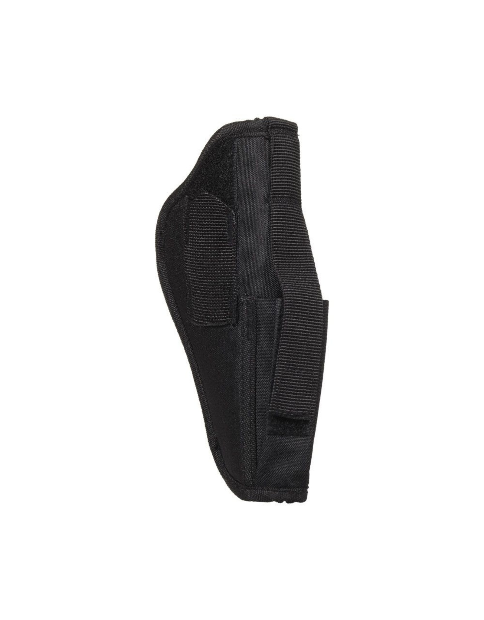"ALLEN COMPANY Allen Company Semi-Auto Handgun Holster, Ambidextrous, 4.5-5"" Barrel Large Frame Semi-Auto Handguns, Black"
