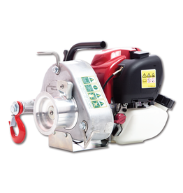 Portable Winch PW PCW3000 GAS-POWERED PULLING WINCH GX35