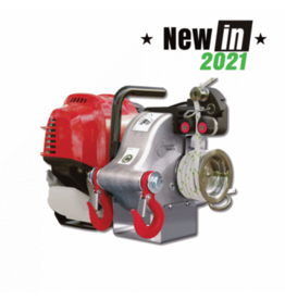 Portable Winch PW PCW4000 GAS-POWERED PULLING WINCH GX50