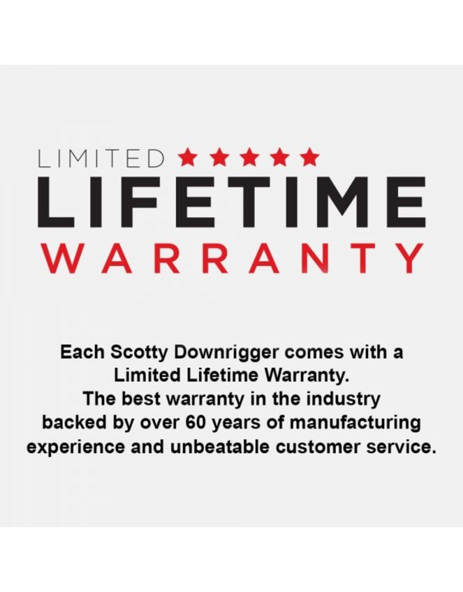 "Scotty Downriggers SCOTTY HP 60""DEP.PWR W/SWIV&DUAL HLDR 2116"