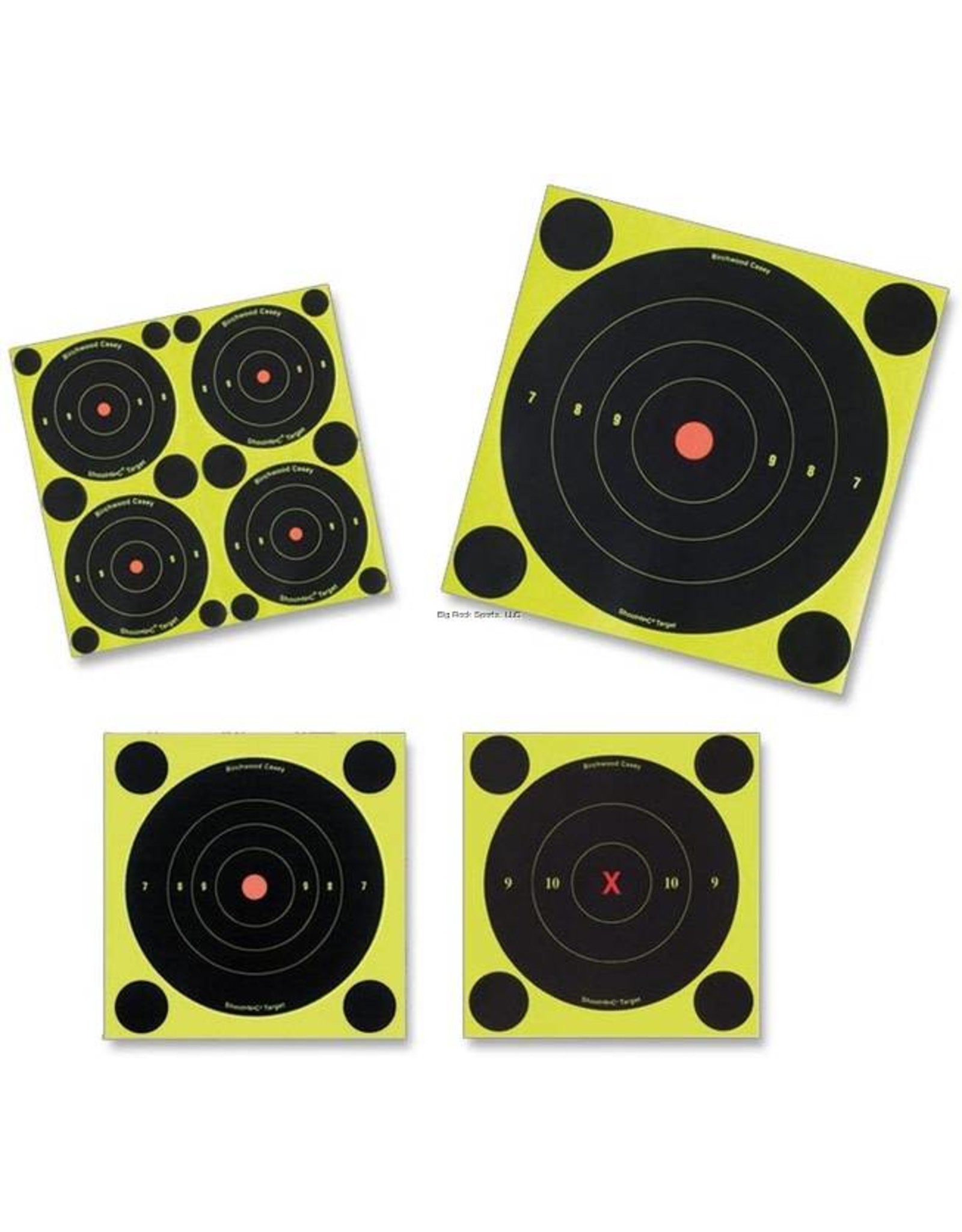 "BIRCHWOOD CASEY Shoot•N•C 3"" Bull's-eye, 48 targets"