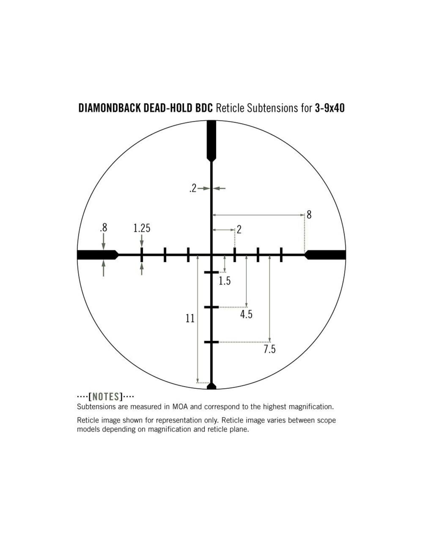 Vortex Vortex Diamondback 3-9x40 Riflescope BDC
