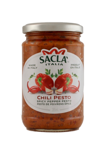 Chili Pesto Sacla (Spicy pepper chili) 290g/6