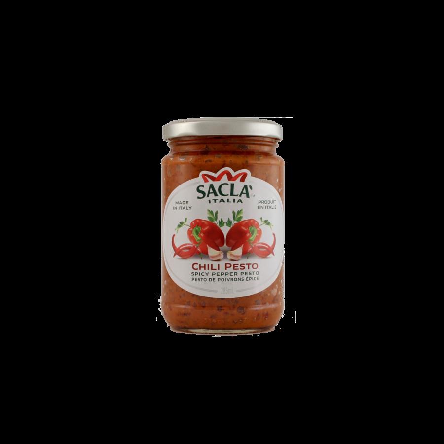Chili Pesto Sacla (Spicy pepper chili) 290g/6