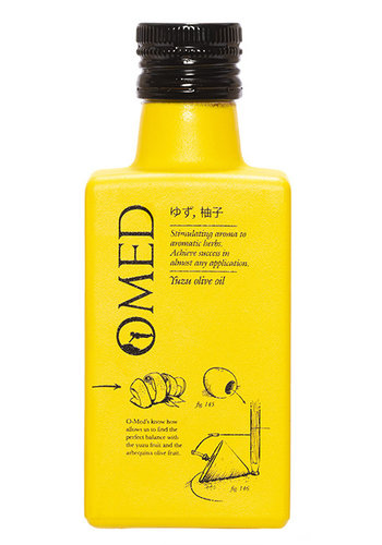 Olive Oil with Yuzu 250 ml O-Med