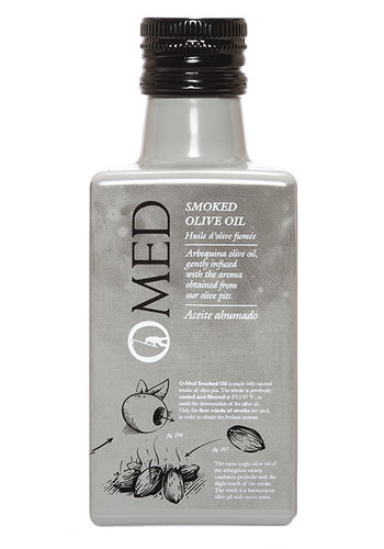 Smoked Olive Oil 250 ml O-Med