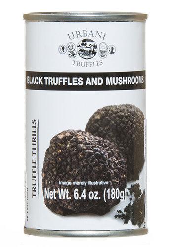 Champignons et Truffes Noires 180g