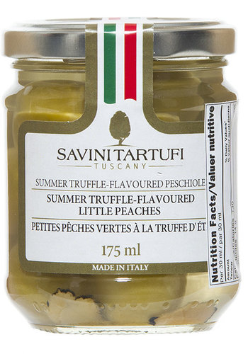 Summer truffle-flavoured little peaches 175 ml