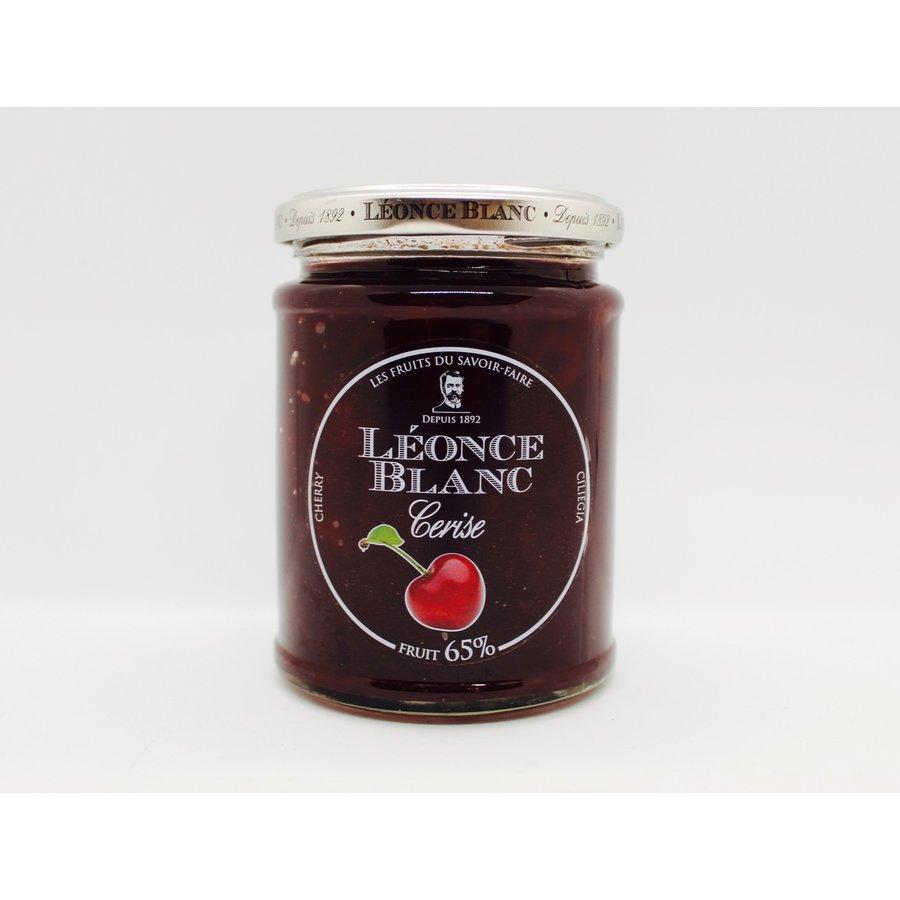 Confiture cerise  65% de fruits ( Léonce Blanc)