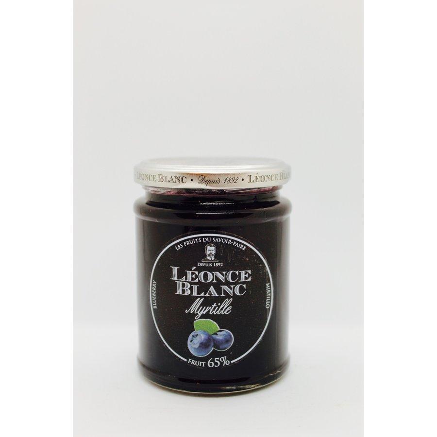 Blueberry Jam 65% 330g (Léonce Blanc)