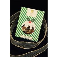 Barre de chocolat au lait - pudding de Noël 75g