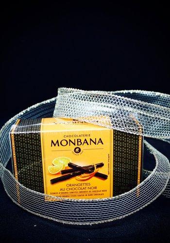 Orangettes au chocolat noir de Monbana  180g