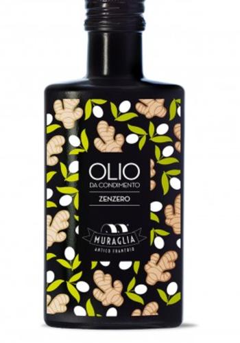 Huile d'olive extra vierge infusée  au Gingembre Muraglia 200ml