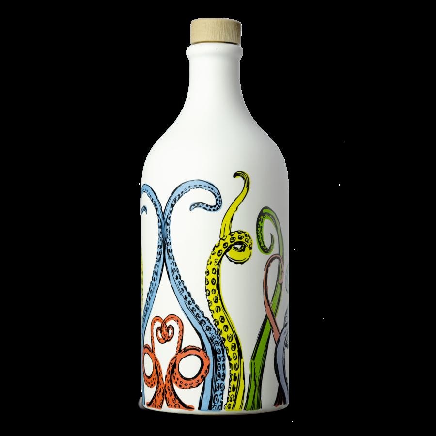 Muraglia olive oil in tentacles ceramic jar 500 ml