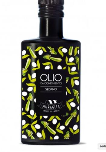 Huile d'olive extra vierge infusée au céleri Muraglia  200ml