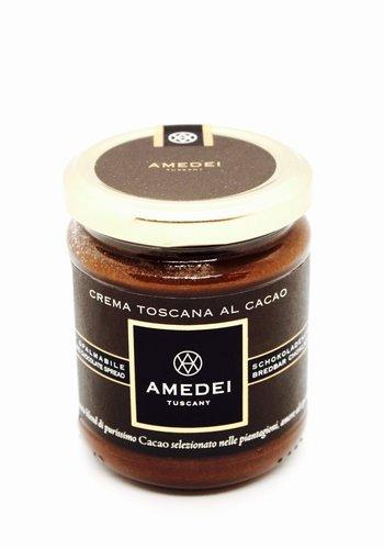 Amedei pâte à tartiner noisettes chocolat noir 200G