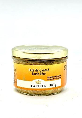 Pâté de canard 100% 180g  (Lafitte)