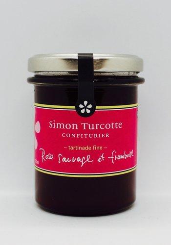 Petit dejeuner gourmet Gelée de rose et framboise sauvage 212 ml   Simon Turcotte