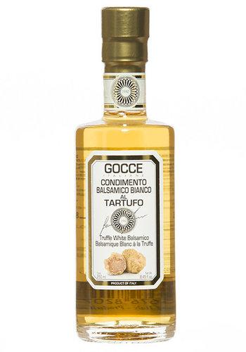 Vinaigre Balsamique Blanc Infuse Truffe -Gocce- 250 ml