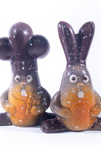 Duo lapins  Morel Chocolatier