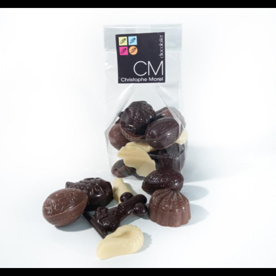 Sac de fritures de chocolat | Morel Chocolat