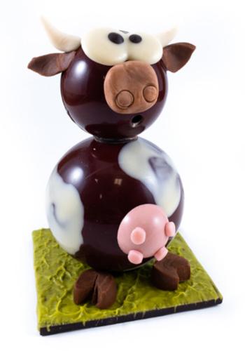 Montage vache   Morel Chocolatier