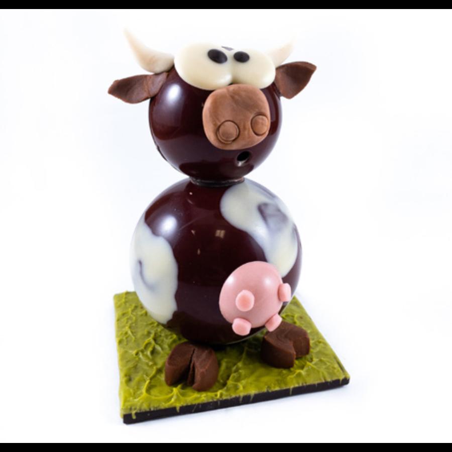 Montage vache | Morel Chocolatier