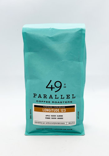 Longitude 123W 340g 12oz | 49e Parallel