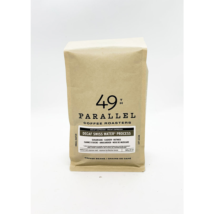 Decaf swiss water process Espresso 340g
