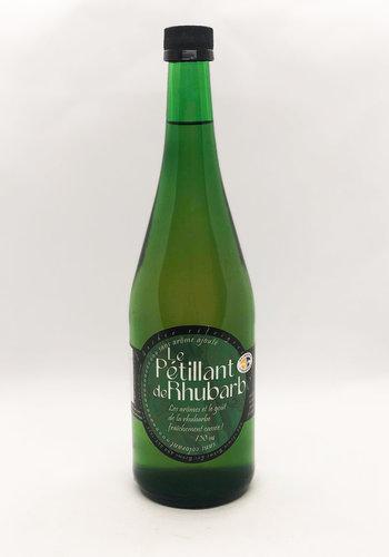 Le Petillant de Rhubarbe 750 ml (rupture de stock recolte fin mai debut juin)