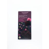 Benjamissimo Tablette chocolat noir huile de rose bulgare 70g