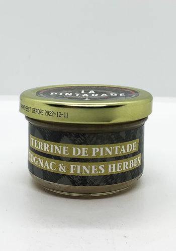 Terrine pintade cognac & fines herbes   80G| La Pintarade