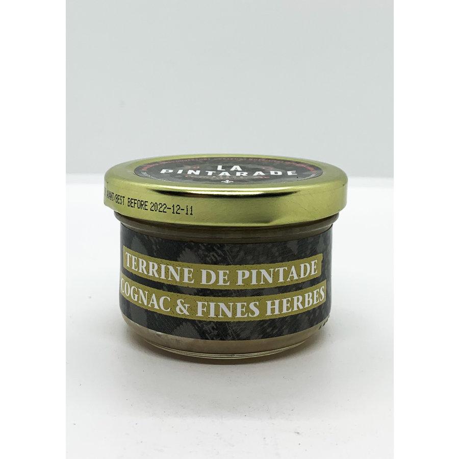 Terrine pintade cognac & fines herbes   80G  La Pintarade
