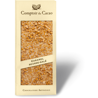 Blond salted caramel chocolate gourmet bar 90g