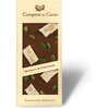 Black nougat and pistachio gourmet chocolate bar 90g