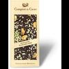Barre gourmande au chocolat noir pistache caramélisée  90g
