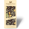 Caramelized pistachio black chocolate gourmet bar  90g