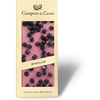 Gourmet bar Chocolate ruby ​​blueberry 90g