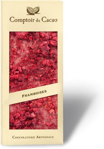 Barre gourmande Chocolat ruby framboise 90g