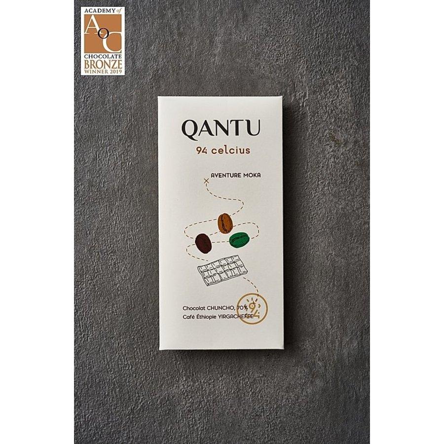 Chocolat noir 70% Chuncho 94 Celsius Aventure Moka 50g | QANTU