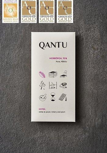 Chocolat noir 70% Morropon  | QANTU | 50g