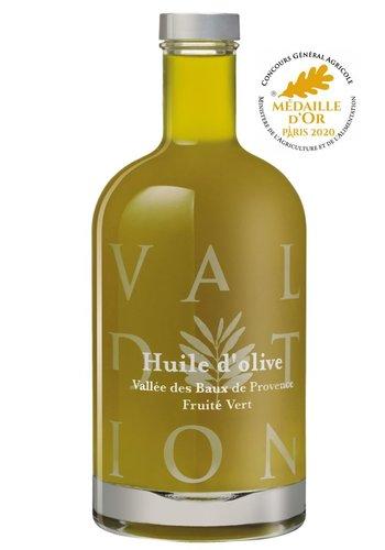 Domaine de Valdition  |huile d'olive extra vierge fruitée vert AOP Vallée des Baux-de Provence 500 ml