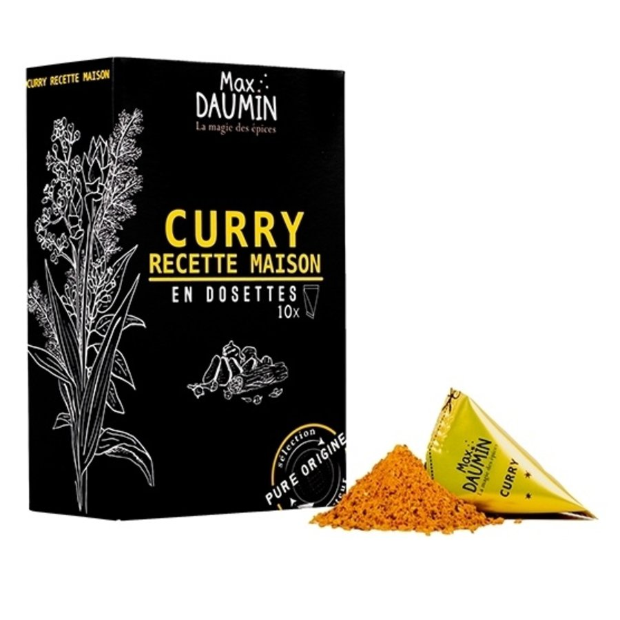Max Daumin - Curry recette maison - 10 dosettes