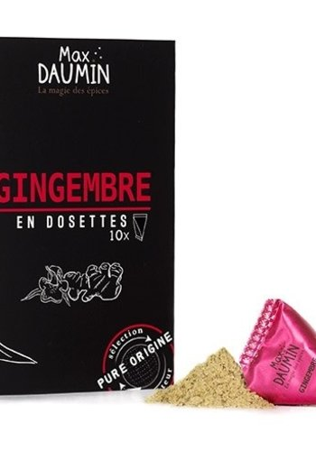 Max Daumin - Gingembre - 10 dosettes