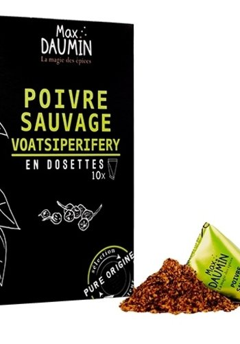 Max Daumin - Poivre sauvage Voastsiperifery - 10 dosettes