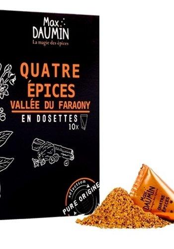 Max Daumin -  Quatre épices - 10 dosettes