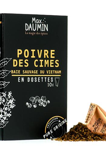 Max Daumin - Poivre des Cimes - 10 dosettes