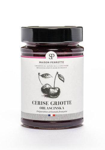 Confiture cerise Griotte 220g |  Maison Perrotte